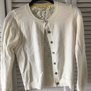Boden lace back cardigan